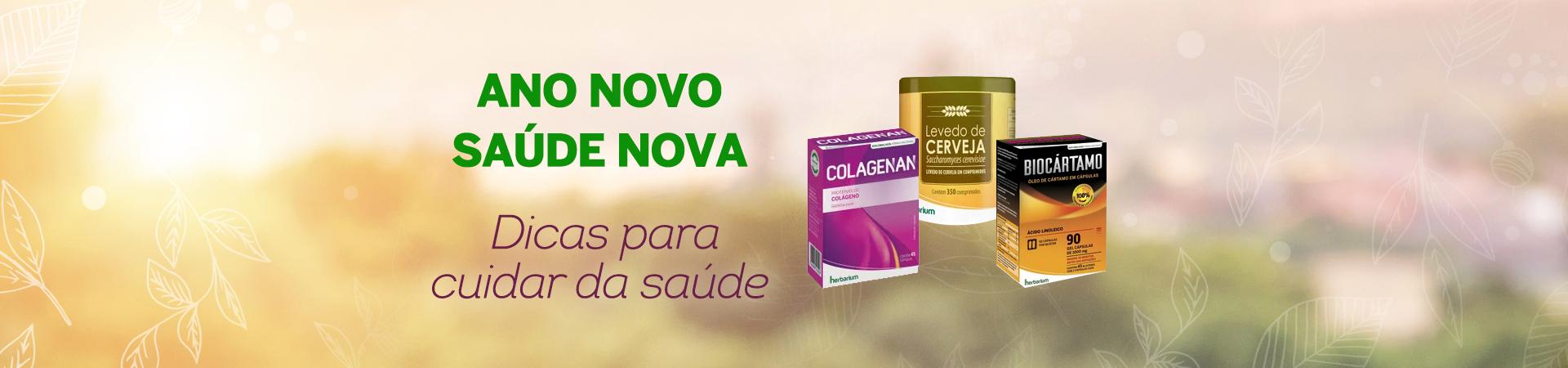 Ano Novo, Saúde Nova com outros produtos